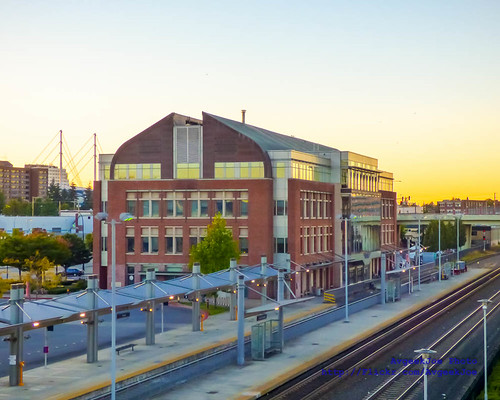 Everett Station in the Sunset...