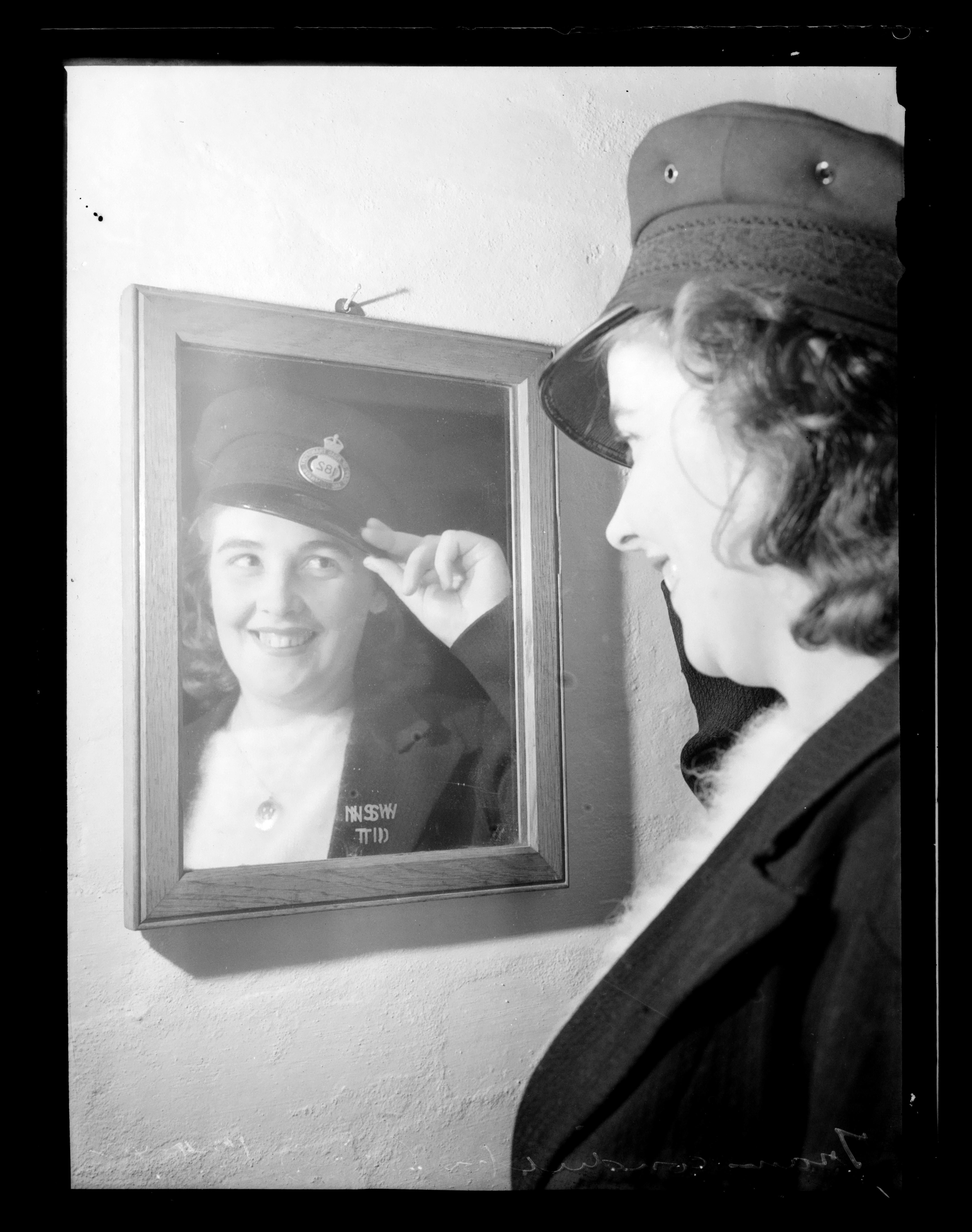 K. Davis - Tramwoman at work [and other tram photographs], 1933-1942