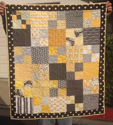 baby quilt for jennifer