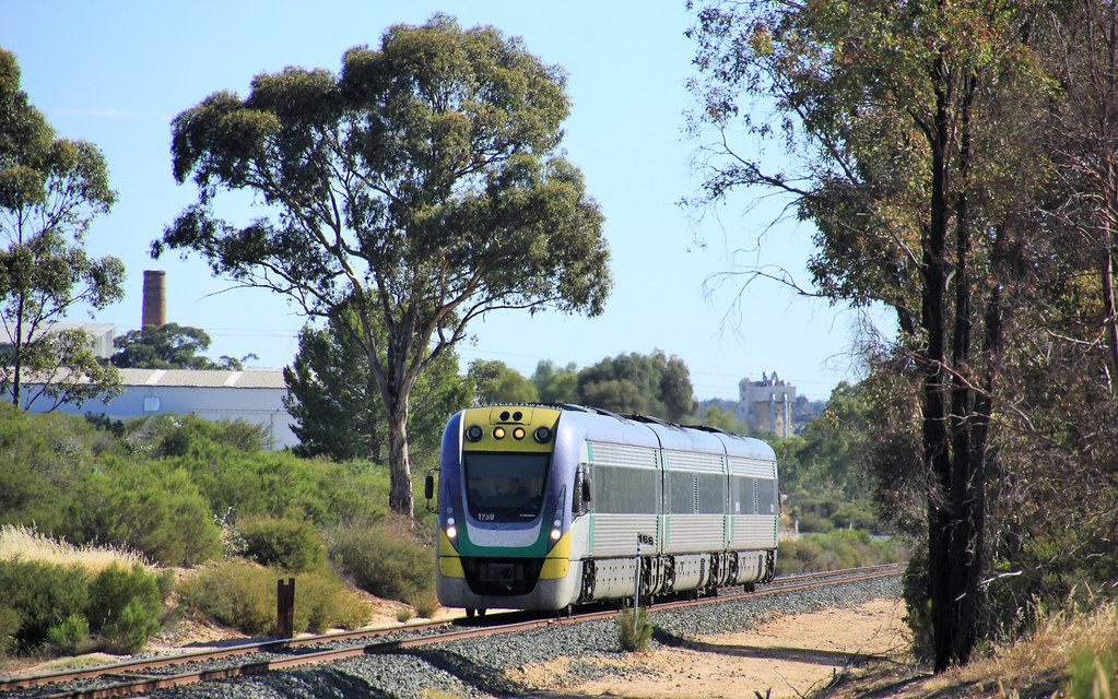 VL30 rolls through White Hills on the Down evening Echuca service by bukk05