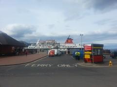Brodick Ferry Terminal, Arran, Scotland