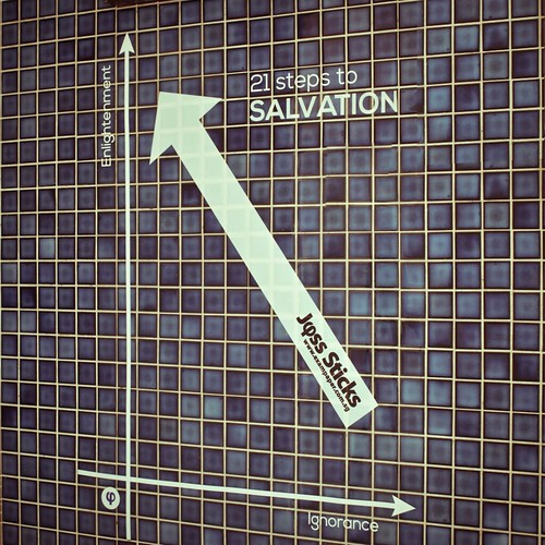 Salvation's Now Only 21 Steps Away | by Miss Loi