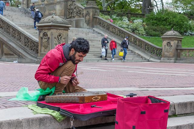 Central Park Musician_
