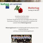 MuttertagsKonzert im Kurhaus Sarnen 10-05-2015