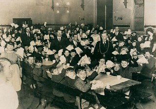 Children's Christmas party organised by the West End Benevolent Fund