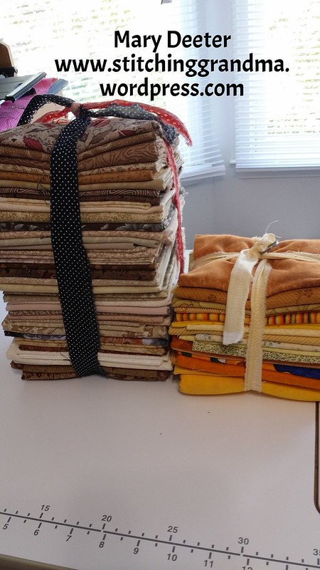 Bundles of fabric