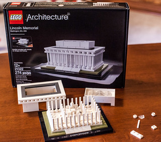 LEGO Lincoln Memorial 21022 -  Almost done | by Tom Alphin
