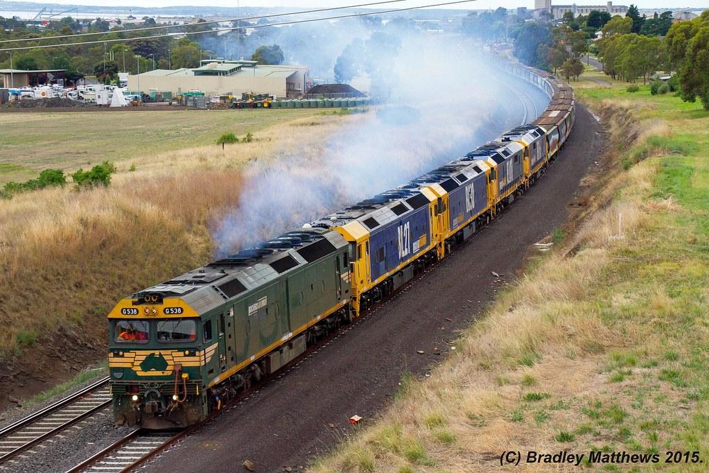 Smoking Quin locos on grain (8/1/2015) by Bradley Matthews