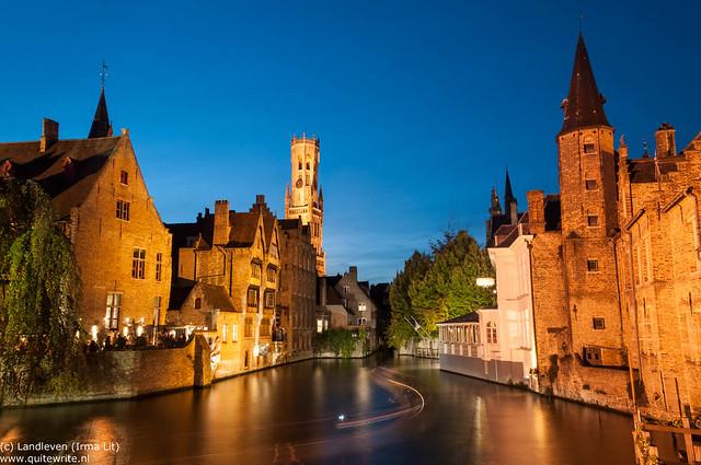Brugge blue hour
