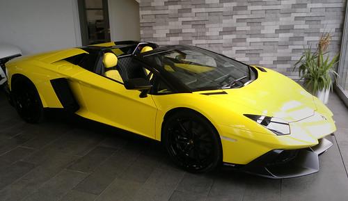 Lamborghini Aventador Roadster 50th Anniversary Edition (Only 100 produced)