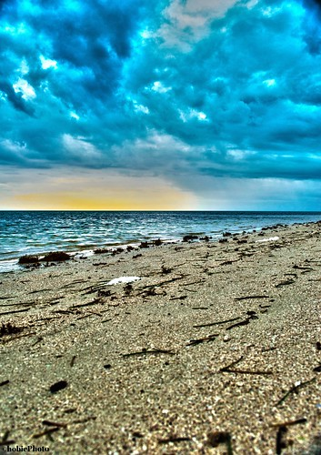 ocean park sunset shells beach clouds honda keys landscape sand florida bahia
