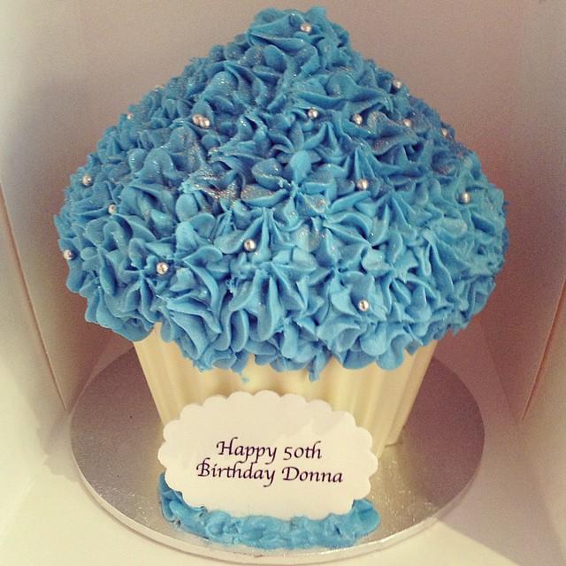 Happy Birthday Donna! We Hope You Enjoyed Your Giant Blue