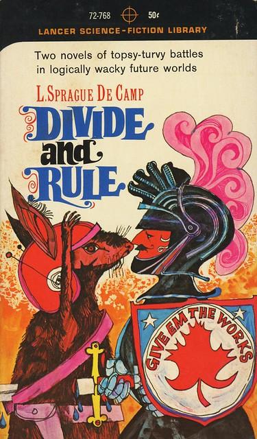 Lancer Books 72-768 - L. Sprague de Camp - Divide and Rule