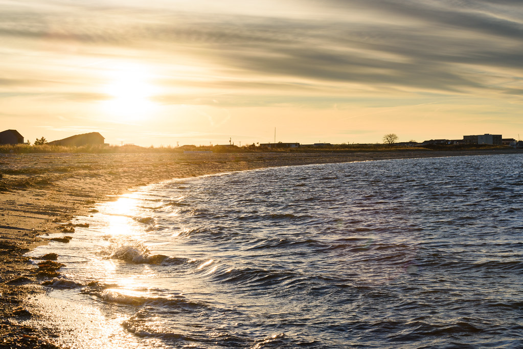 Lewes Beach at Sunset   This is the beach in Lewes, DE at su…   Flickr