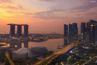 Singapore Sunrise | by rsusanto