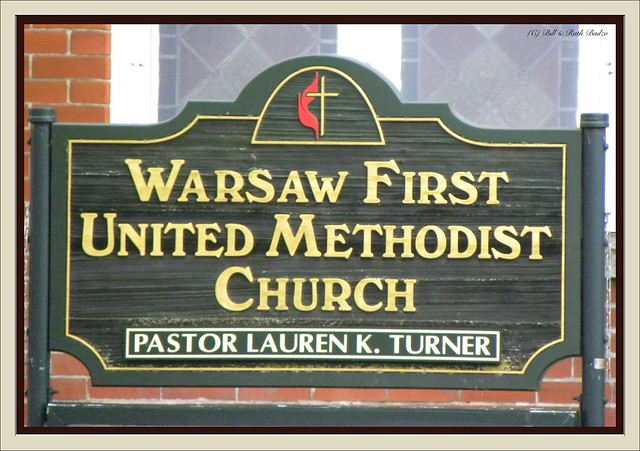 Warsaw NY ~ Warsaw First United Methodist Church ~ Historical