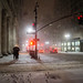 New York City - A Moment in the Snow - Midtown by Vivienne Gucwa