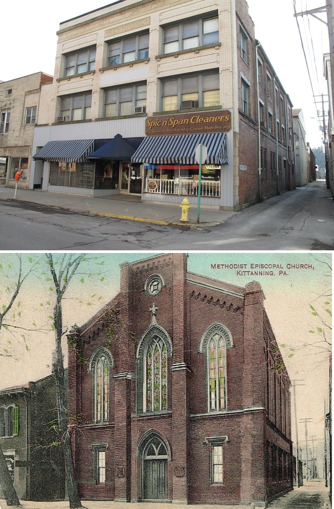Now And Then Kittanning Pa Downtown Kittanning Now