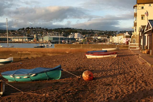 Back beach, Teignmouth