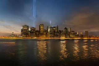 New York skyline   by kewl