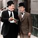 Laurel & Hardy by NoobieNikon