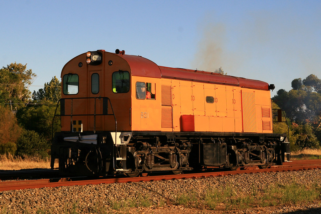 Rare mainline runner 801 by Trackside Photography Australia