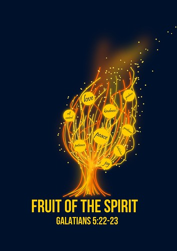 Fruits of the Spirit Fire Tree | by Tyler Neyens