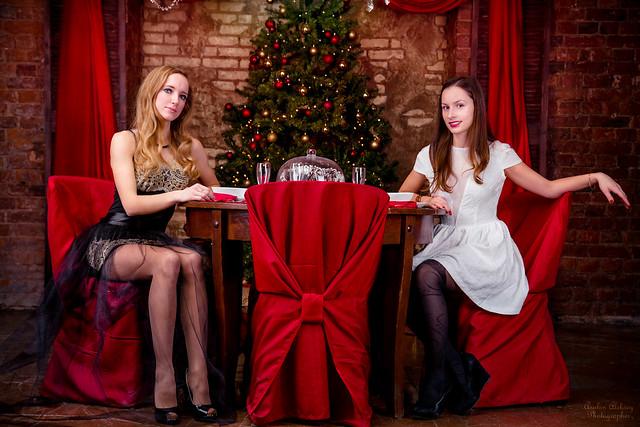Happy New Year. Татьяна и Алена