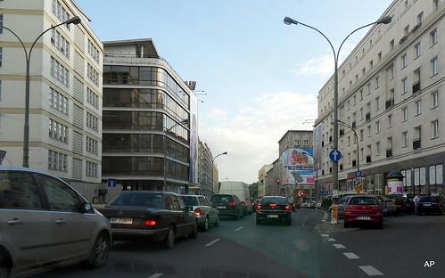 Stadtzentrum -Warschau