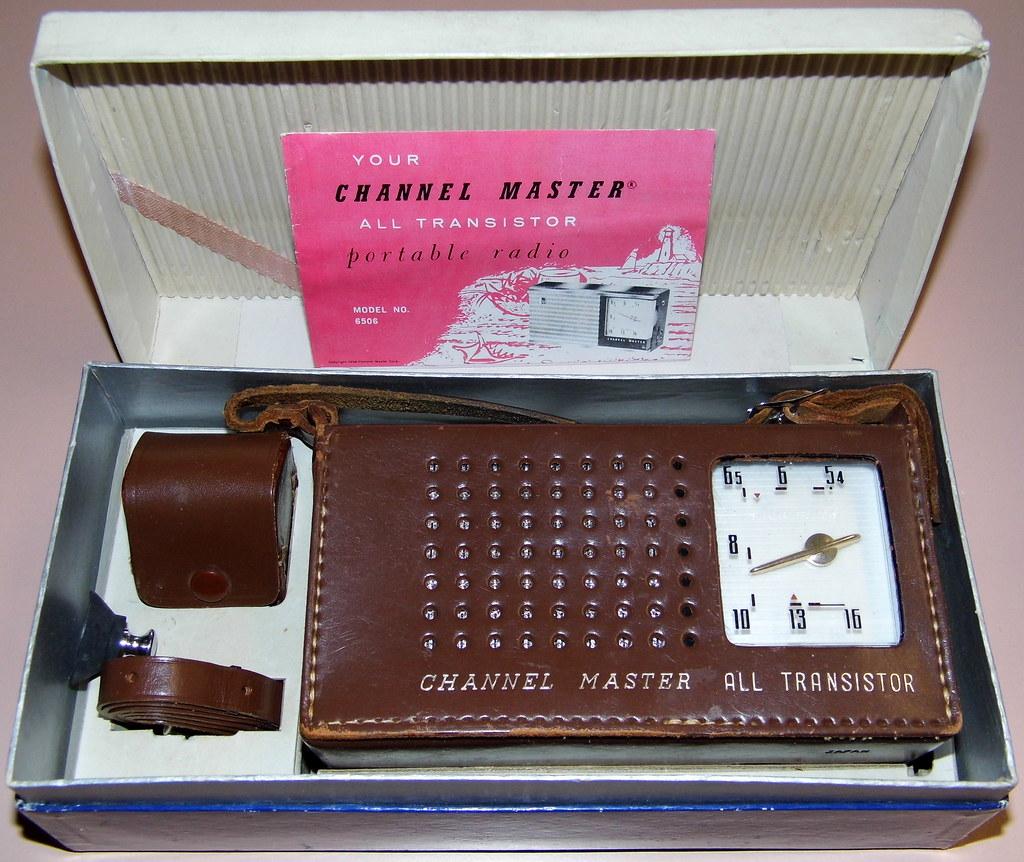 Vintage Channel Master 6 Transistor Radio, Model 6506, Bro… | Flickr