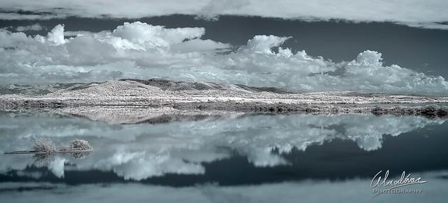 Like a mirror.