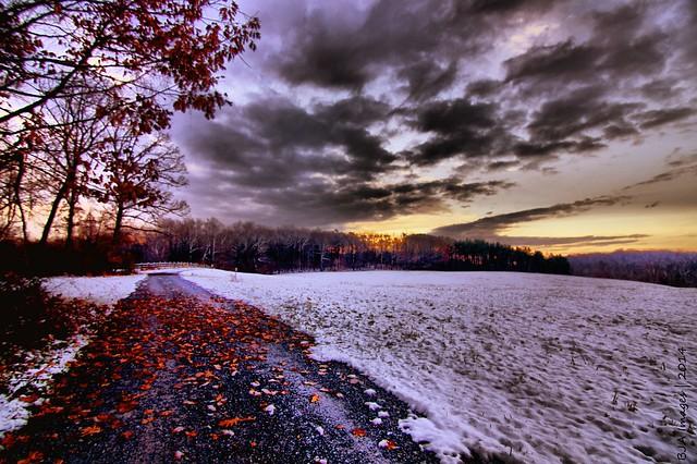 Hibernia Sunrise