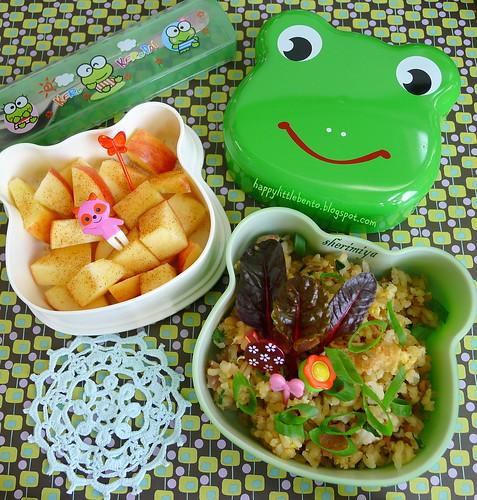 Fried Rice Froggie Bento | by sherimiya ♥