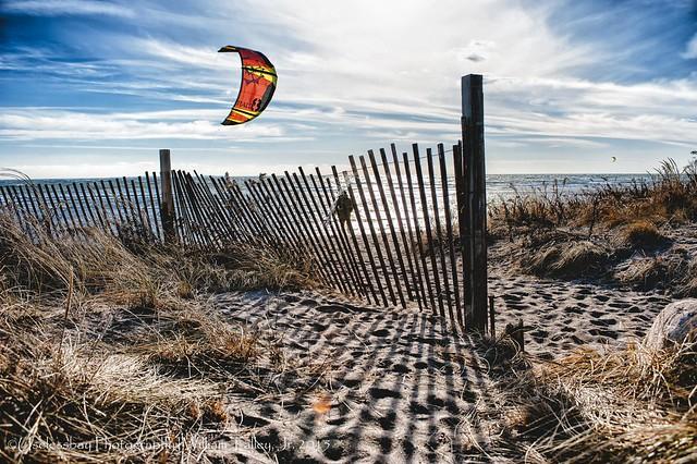 Windsurfing Matuneck Beach 1/215