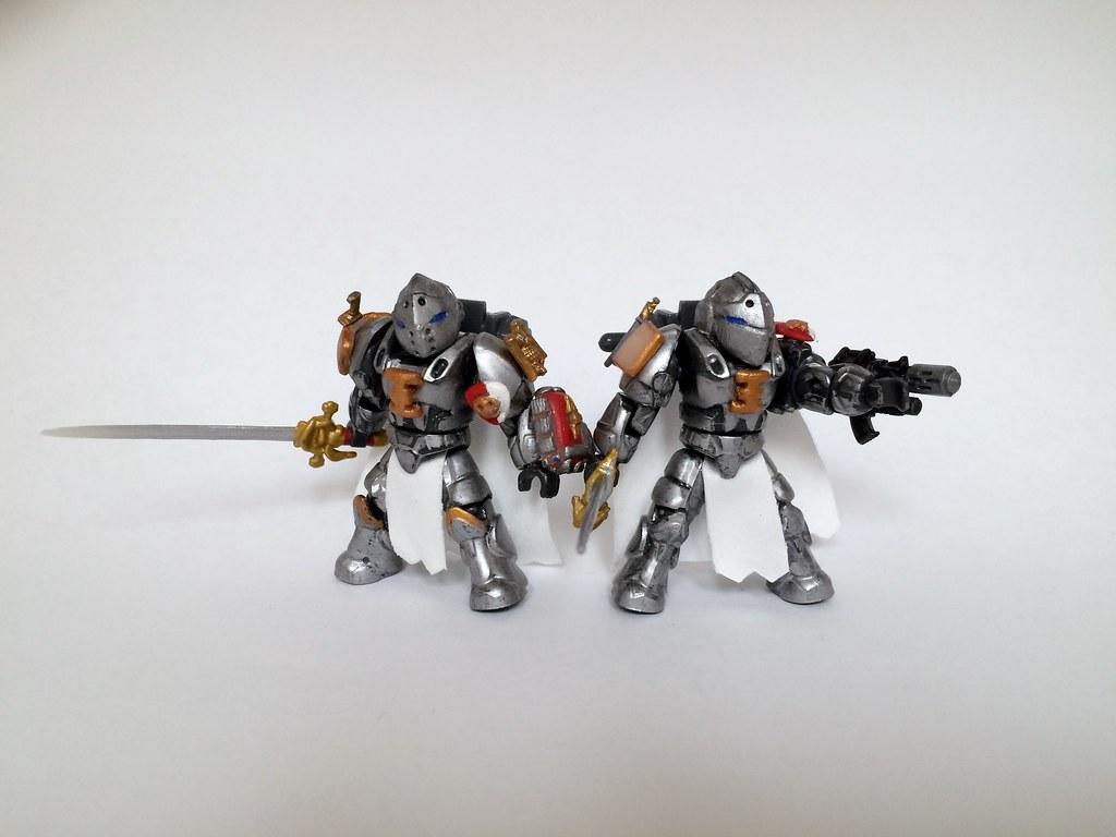 Grey Knights My Custom Warhammer 40k Space Marines I Used Flickr