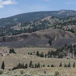 Hills surrounding Hellroaring Creek