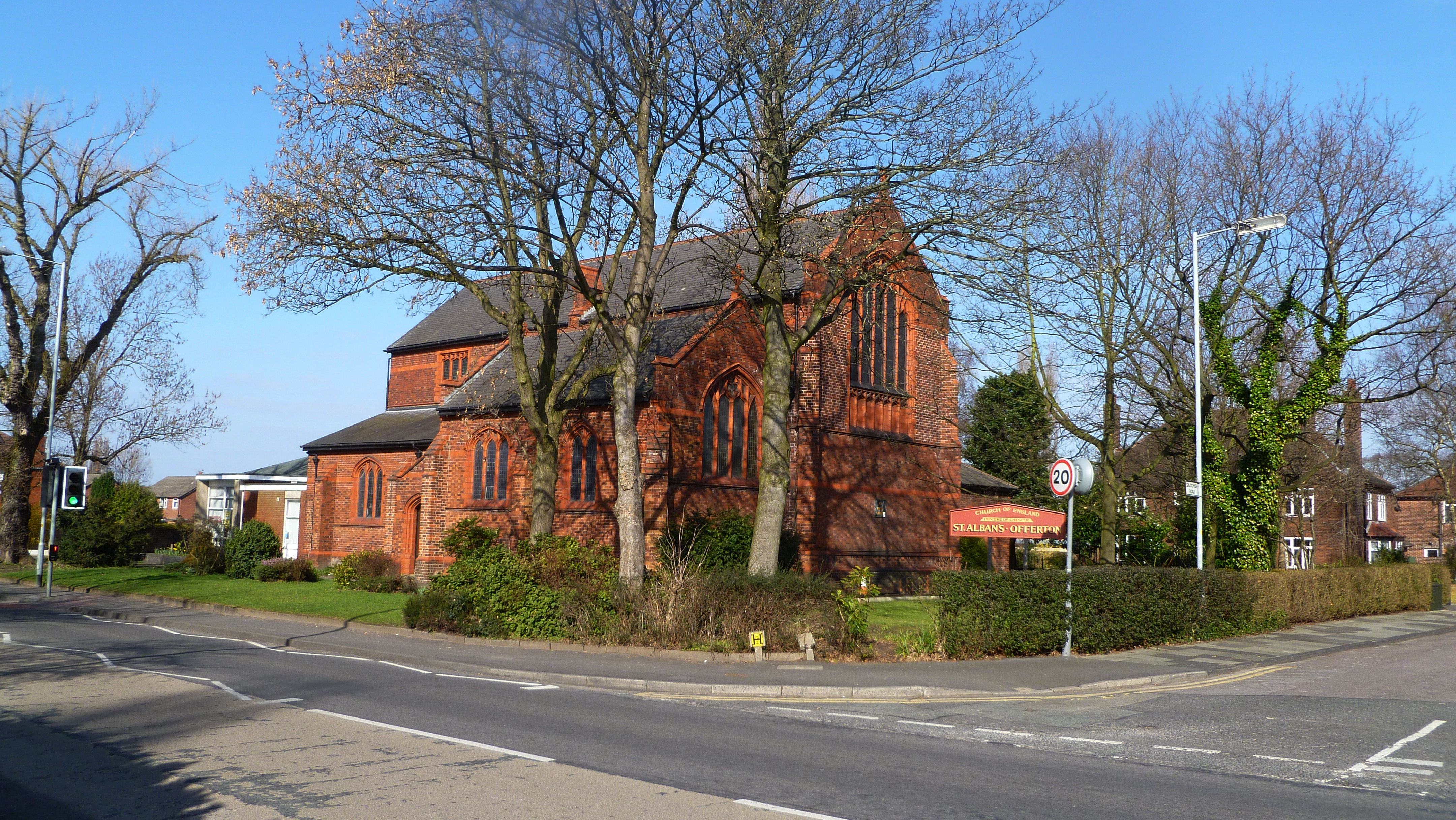 OFFERTON, St Alban, Greater Manchester (Allen Greave)