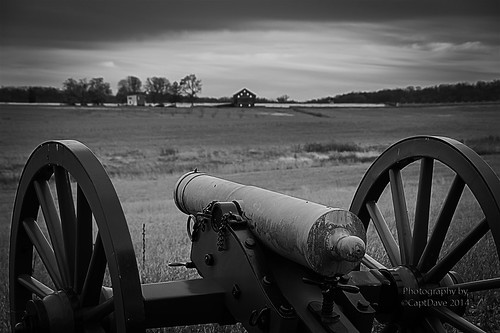12 Pounder Howitzer Hill's Corps Seminary Ridge Gettysburg, PA Gradient HDR