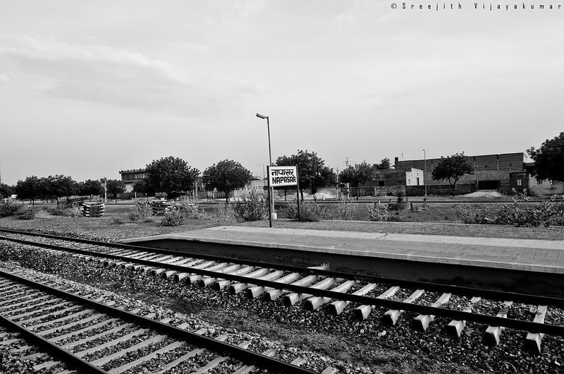 Delhi-Bikaner train journey