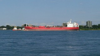 Port Huron, Michigan - Freighter   by Darrell Harden
