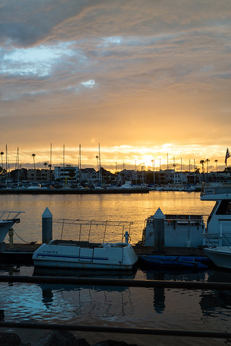 Sunset in Alamitos Bay | by Yack_Attack