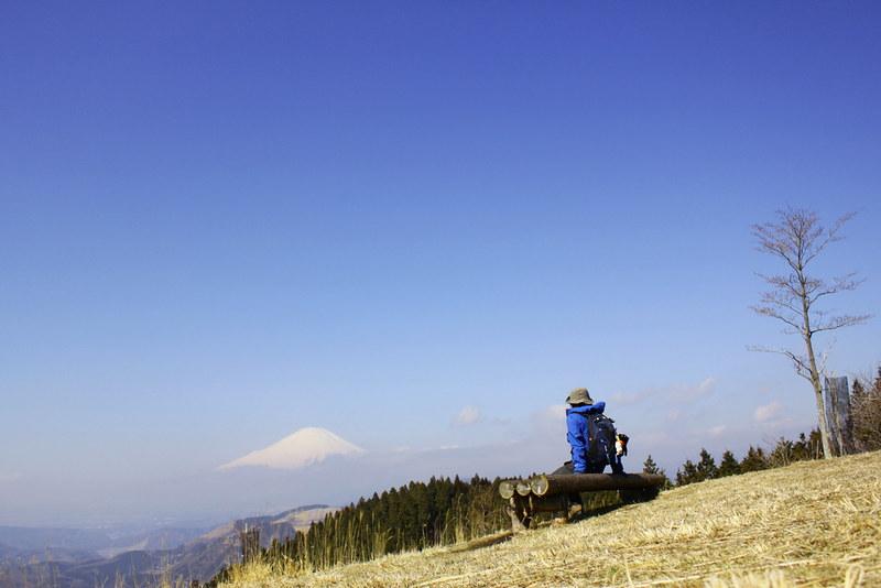 高松山 広い頂上