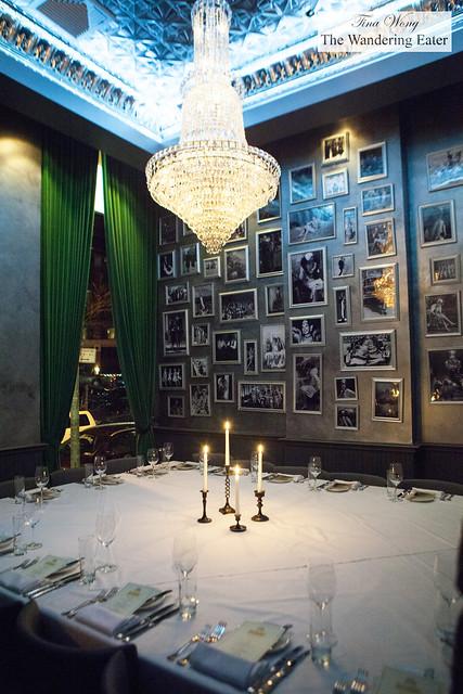 Interior of private room