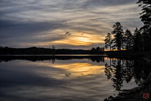 sunset unitedstates walk massachusetts royalston explored tullylake winter2014 voigt35