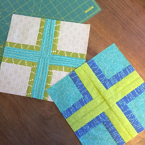 December blocks for #faithcircle #dogoodstitches @aquilterstable these will go out after Christmas ;)