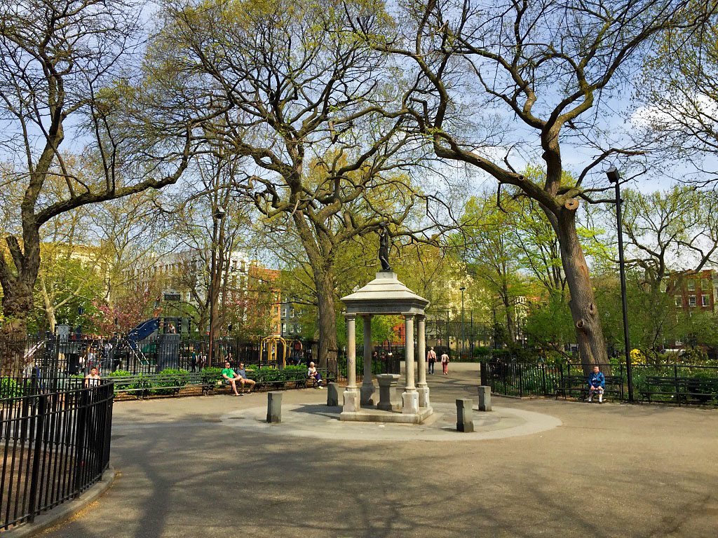 Henry Cogswell Temperance Monument -- Tompkins Square New York (NY) April 2016