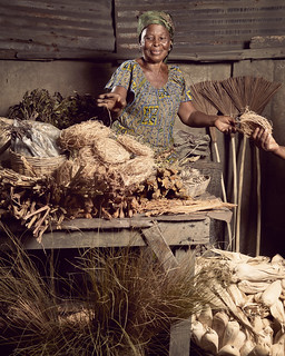 Madame Aziamadi Massan is the neighborhood herbalist | by World Bank Photo Collection