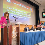 Wed, 06/22/2016 - 13:40 - On Wednesday, June 22, 2016, the William J. Perry Center for Hemispheric Defense Studies hosted 'LGBT Personnel in the Armed Forces: Advancing a Position of Inclusivity and Embracing Diversity.' Panelists included  Ms. Amanda Simpson, Deputy Assistant Secretary of Defense for Operational Policy; Major General Patricia Rose, USAF; Brigadier General (P) Randy Taylor, USA; Dr. Alan Okros, OMM, CD; Mauricio Orrego Saavedra, Chief of Staff, Office of the Under Secretary of the Armed Forces, Chile; Ms. Kristin Beck, Senior Chief Petty Officer (Ret.), US Navy Seal; and Ms. Jennifer Dane, Diversity & Inclustion Policy Analyst at American Military Partner Association.