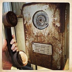 Старый добрый телефон. Хорошо их помню, как внешне, так и безобидные шалости, которые устраивали в детстве #телефон #Гагра #ностальгия