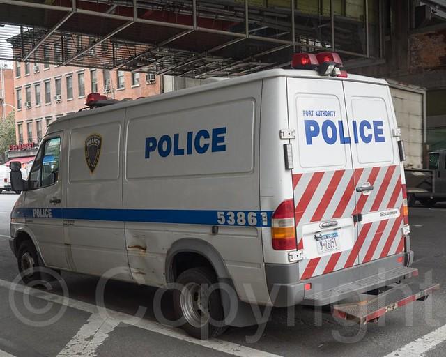 PAPD Police Van, Port Authority Bus Terminal, New York City